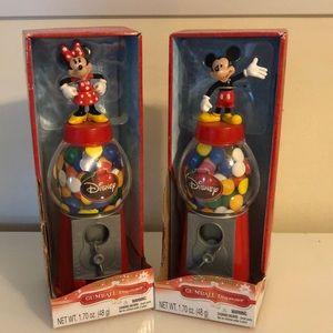 Mickey & Minnie Gumball  Dispensers